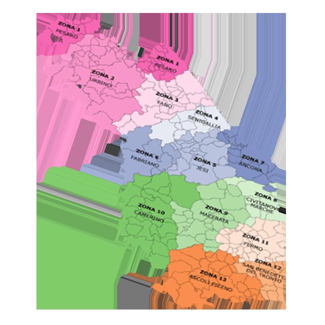 Distretti e aree vaste