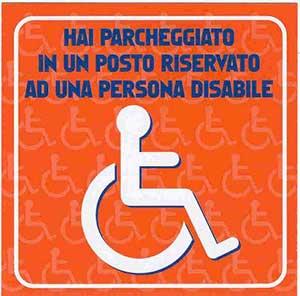 logo bollino disabili