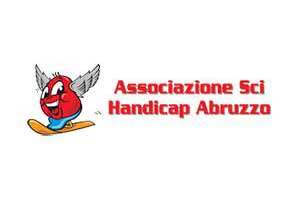 Logo associazione sci handicap abruzzo