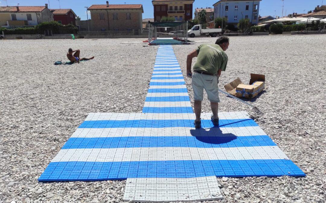 inaugurazione spiaggia accessibile Fano
